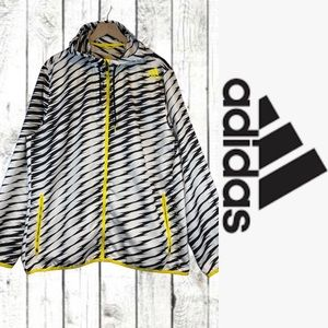 Adidas Men's XL Jacket Coat Windbreaker Athletic